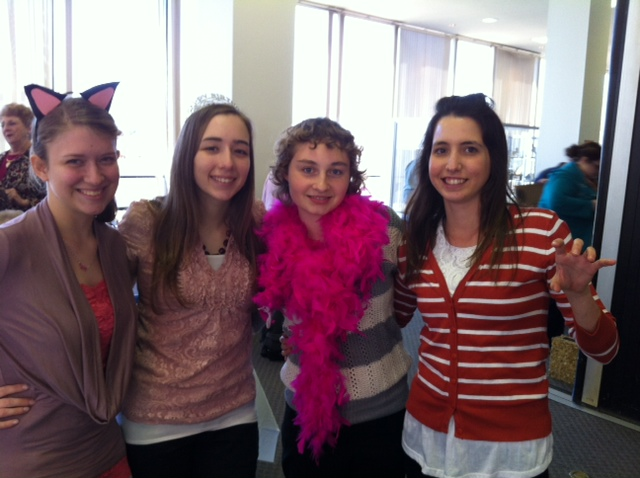 Cat # 3 : Rachel Barthold, Alicen King: Fairy God Mother, Renee' Sprinkle: Tooth Fairy, Katy Adkins: Cat # 2